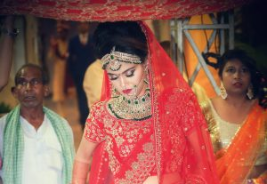 ankita vaibhav wedding bridal entry