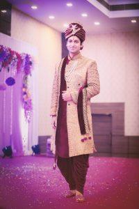 ankita vaibhav wedding groom look