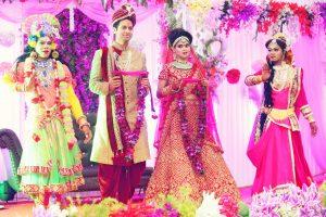 ankita vaibhav wedding on stage