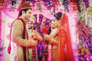 ankita vaibhav wedding varmala